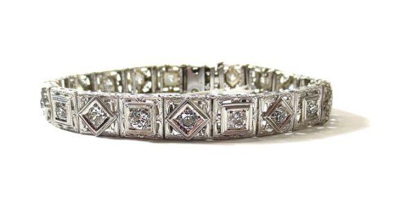 צמיד טניס יהלומים באיכות הגבוהה ביותר